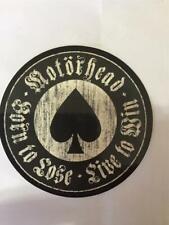 Offiziell Lizenziert - Motorhead - Live To Win Aufkleber Lemmy Metal Punk Neu
