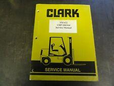 Clark CDP 100/164 Forklift Service Manual    SM622