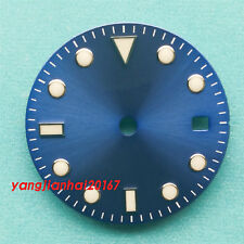28.5mm sterile Dial fit 2836/2813/3804,Miyota 82 Series movement 40/ 41mm watch