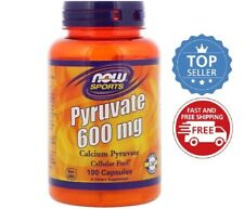 Now Foods - Pyruvate, 600 mg, 100 Capsules