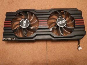 Asus GeForce GTX 660 DirectCU II Dual Fan Assembly Cover & Fans - T128010SH