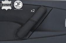Black Stitch 2X Avant Poignée Porte Couverture en cuir pour CITROEN XSARA PICASSO 04-10
