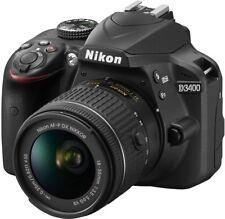 Nikon D3400 inkl. AF-P DX NIKKOR 18-55 mm VR Objektiv schwarz - NEU!!!