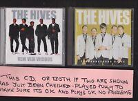 The Hives Veni Vidi Vicious (2000) and Tyransaurus Hives TWO CD Albums