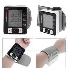 Digital LCD Wrist Blood Pressure Measure Meter Heart Beat Rate Pulse Monitor New