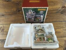 Lemax 2019 Spark's Auto Plug #95543 Retired Christmas Collectible Lighted House