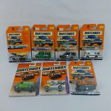 Matchbox Chevy Ambulance Snow Groomer Camper Air Transport New on cards Lot of 7