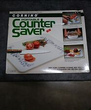"CORNING Portable Counter Saver 16x20"" Forest Fancies Mushroom Glass/C-20- Series"