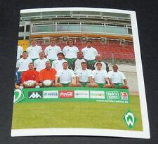 87 TEAM P2 WERDER BREMEN PANINI FUSSBALL 2002-2003 BUNDESLIGA FOOTBALL