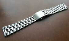 NEW 20MM CITIZEN STAINLESS STEEL GENTS WATCH STRAP / BAND STRAIGHT ENDS (CZ-2)