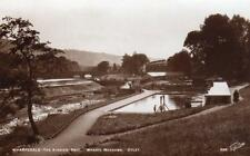 Wharfedale Kiddies Pool Wharfe Meadows Otley  unused RP old pc  Walter Scott