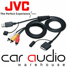 JVC KS-U20 AVX NX PRE 2008 Model Car iPod iPhone Direct Music & Video Cable Lead