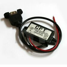 DC 12V To 5V 3A 15W USB Output Power Adapter Converter Module For Car Boat