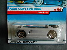 2000 FIRST EDITIONS N°5/36 DEORA II  1/64 HOT WHEELS IMPORT US
