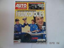 AUTO HEBDO N°1087 28 MAI 1997 GP ESPAGNE FRANCOFOLIES AYARI   F38