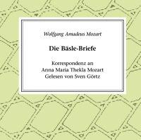 hoerbuchcd Mozart La Baesle Briefe CD Lector Sven Görtz