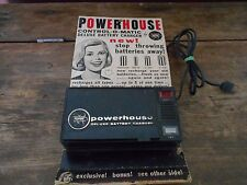 1968 VINTAGE POWERHOUSE BATTERY CHARGER- NOS