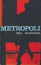 Dea Matacena # METROPOLI # Giordano 1966