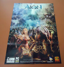 Aion / Elysea  Double Sided Folded Poster / Map      NEW