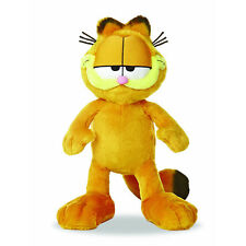 "OFFICIAL RETRO GARFIELD SOFT PLUSH TOY 11"" - Cartoon Cat Cute New Aurora"