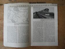 TEHERAN IRAN STATE STEAM & DIESEL RAILWAY LOCOMOTIVES ARTICLE PHOTOS MAP 1963