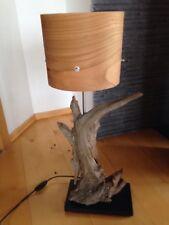 Treibholz Stehlampe massiv Altholz Lampe Leuchte