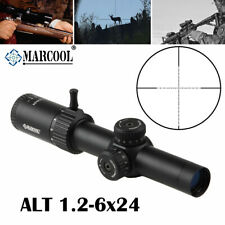 Marcool Alt 1.2-6x24 Sfp Riflescope Tactical Hunting Hd Ir Rifle Scope Sight