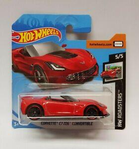 Hot Wheels -  Corvette C7 Z06 Convertible Roadsters 5/5 FJY47 347/365 NEU & OVP