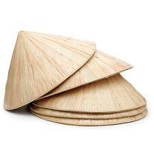 Vietnamese Hat Non La Chinese Asian Farmer Garden Fishing Sun Bamboo Leaf  Shade