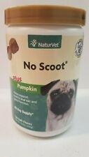 Naturvet No Scoot Plus Pumpkin ( 120 Soft Chews )