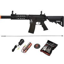 400 FPS Lancer Tactical M4 Airsoft Gun Auto AEG LT-15B Gen2 Black Electric Rifle