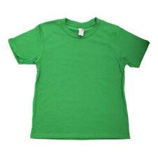T-shirts, hauts et chemises verts coton mélangé Longueur de manches Manches courtes pour fille de 2 à 16 ans