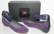Tsubo 1006238 Gylda 7.5 Women Suede Leather Flat Shoes Amethyst Purple US 7.5