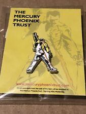 100 Official Freddie Mercury Queen Phoenix Trust Pin Bohemian Rhapsody Alchemy