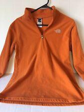 The North Face Full Zip Fleece Jacket (Boys Xl 18/20) Orange
