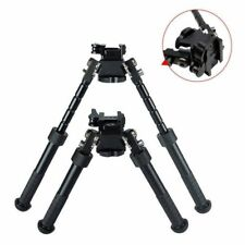 Outdoors Cnc Qd Tactical Bipod 6.5-9 inch Hunting Black Adjustable Pan Tilt Us