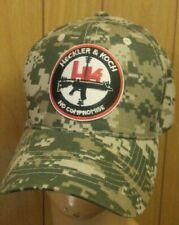Heckler and Koch ACU Camouflage Baseball Cap ACU Camo Hat No Compromise