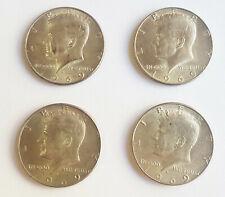 USA 1969 Kennedy Silver Half 1/2 Dollar $ *RARE VINTAGE COLLECTIBLE COINS*