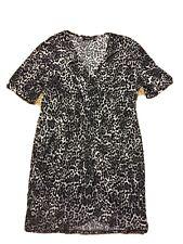 Woman's Apt. 9 Leopard Pattern /Black/ White / Gray Size Xl Dress