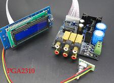 Assembled PGA2310 Streo Remote Audio preamp board Remote Volume Control   L153-9