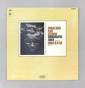 "Charles Rosen Plays Beethoven - Piano Sonatas - 12"" Vinyl - CX 5257 (= SAX 5257)"