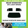 Vorgeschnittene Scheibentönung - Suzuki R Kombi 2000-2007 - 35% Licht Hinten