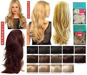 "Stranded 25"" Straight Flicky Wavy Half Head Wig 3/4 Weave – Megan (Wag in a Bag)"