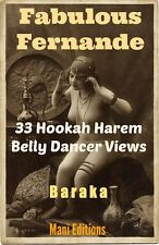 FERNANDE HAREM BELLY DANCER HOOKAH 33 VINTAGE FRENCH EROTIC NUDES PHOTO CD-ROM y