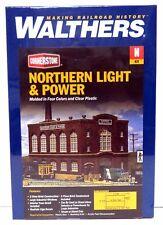 N Scale Walthers Cornerstone 933-3214 Northern Light & Power Powerhouse Kit