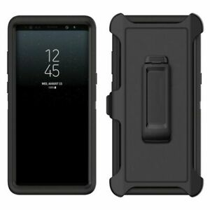 For Galaxy S10 S10+ S10e Case with Belt Clip ( Fits Otterbox DEFENDER SERIES )