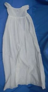 Antique Victorian Christening Gown, late 1800's or early 1900's