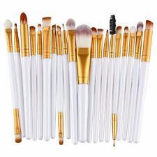 20 pcs Makeup Brush Set tools Make-up Toiletry Kit Wool Make Up Brush Set White