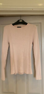 Womens Pink Long Sleeved Jumper - Size 12 - NEW LOOK