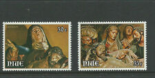1979 Niue Easter  set 2 Stamps  SG 274 - 275  Complete MUH/MNH as Issued
